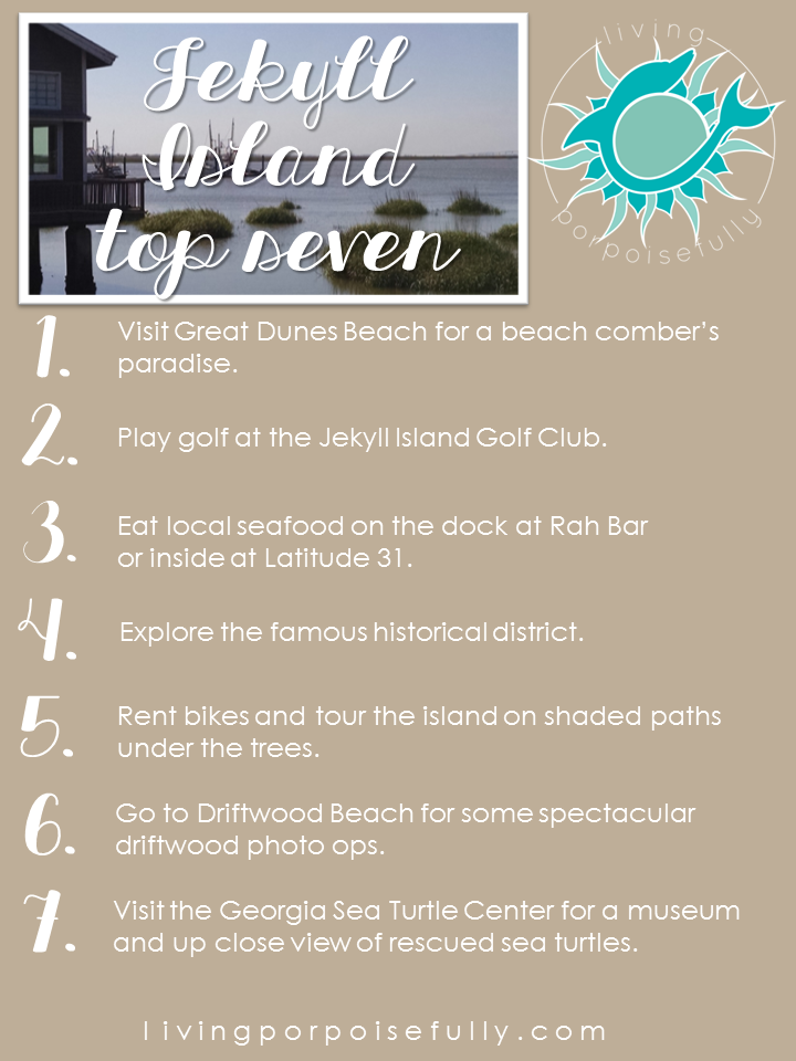 Top 7 Things To Do In Jekyll Island Living Porpoisefully