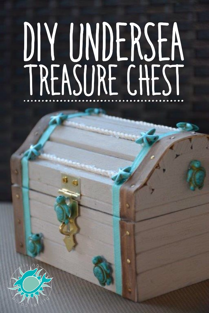 Awesome Diy Undersea Treasure Chest Living Porpoisefully Home Interior And Landscaping Ologienasavecom